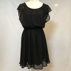 Lush LBD black dress extra small